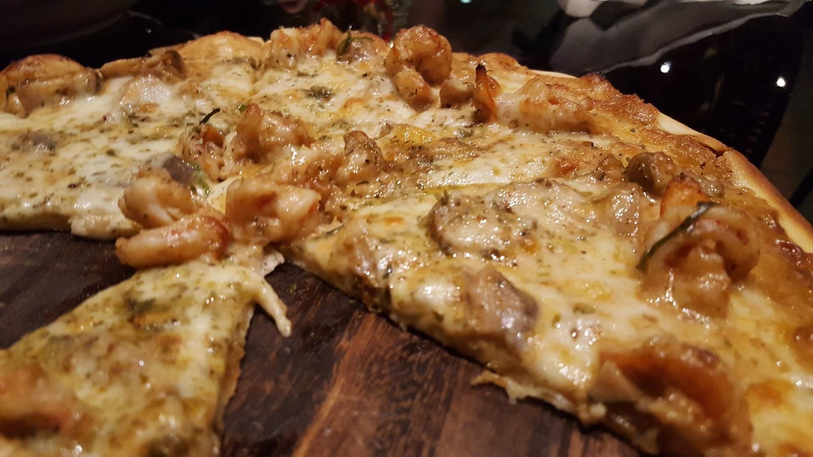 Skaldjurspizza