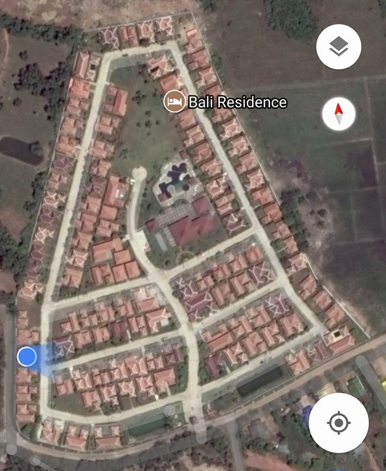 Satellitbild över Bali Residence